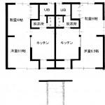 野菊荘 2階 1LDK 211号  35000円