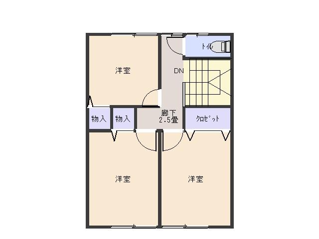 アメニテイパレス (メゾネット)A棟  3LDK  63000円  画像2