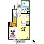 カーサ・ラッフィナートⅡ 102 1LDK  50,000円 (ペット可)