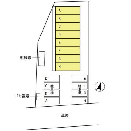 リースランド天童交り江 E  1DK    50,000円  2021年10月23日 画像17