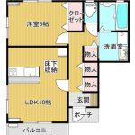 新築・グランコーヴA棟101号室(1LDK)  5.3万円   平成31年1月24日(予定)