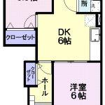 リブタウンB 211   2DK     49,000円  2021年10月上旬 画像1
