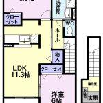 リリエンハイム C321号  2LDK   54,000円    画像1