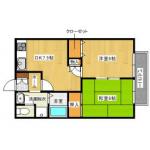 メゾン・ド・ベル    2DK   48000円