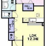 マーベラス K・E101号  1LDK   57,000円