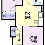 エクセレントヴィラC314  2DK  50,000円 (ペット可) 2021年10月中旬 画像1