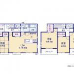 新築・グラファーレ 東根市蟹沢2棟  4LDK+S    2,280万円