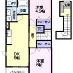 エクセレントヴィラ A 123号  2DK  52,000円  2021/04