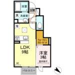 カーサ・ラッフィナートⅡ 103   1LDK   52,000円  2021年4月10日