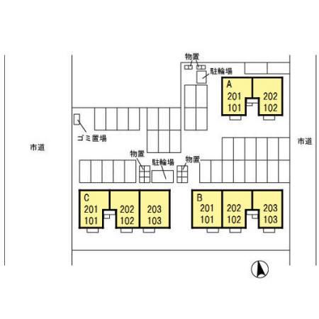 ヴィクトワール B 201   2LDK   65,000円    2021年9月25日 画像13