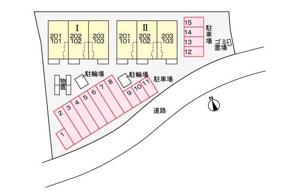リヴ・タウン Ⅰ 203  2LDK   61,000円   画像15