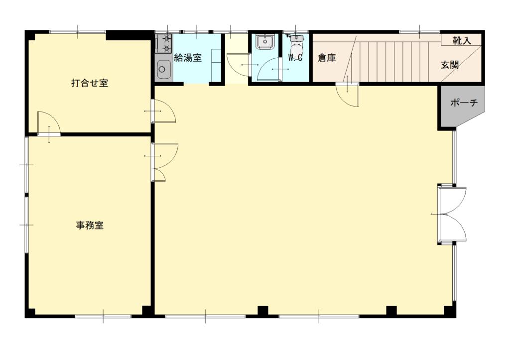 東根中央3丁目貸事務所  3R   10万円 画像1